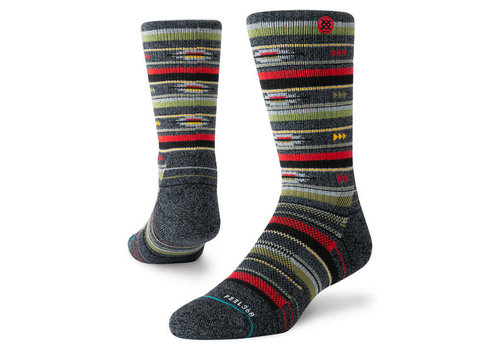 Stance Men's Smoke Shack Black Hike