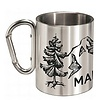 Maloja AsafalM. Silver Camping Mug