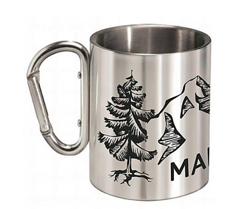 AsafalM. Silver Camping Mug