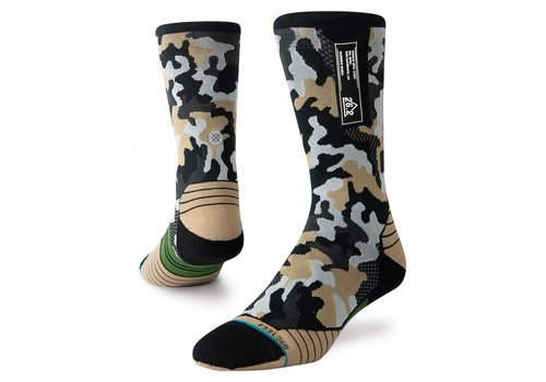 Stance Run Smoked Camo Crew Multi-Men