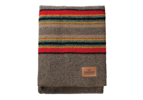 Pendleton USA Yakima Camp Throw - Mineral Umber