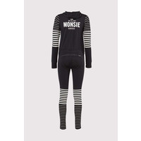 Womens The Monsie One Piece Black