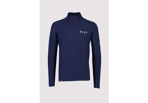 MonsRoyale Mens Olympus 3.0 Half Zip