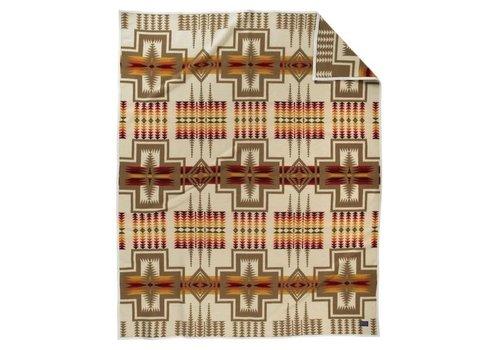 Pendleton USA Harding Robe - Ivory