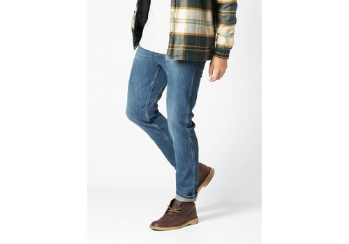 Duer Fireside Performance Denim Slim - Lakeshore