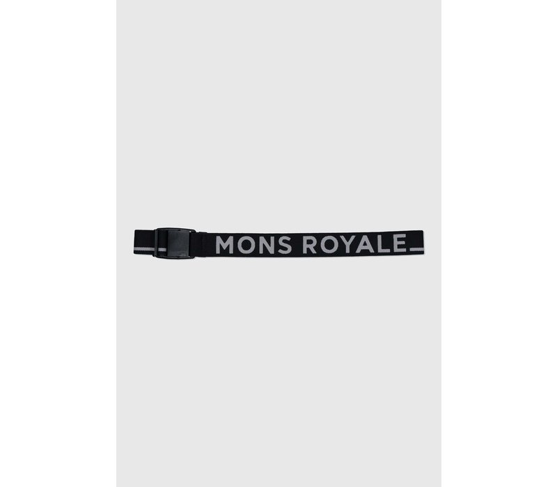 Mons Belt - Black Grey