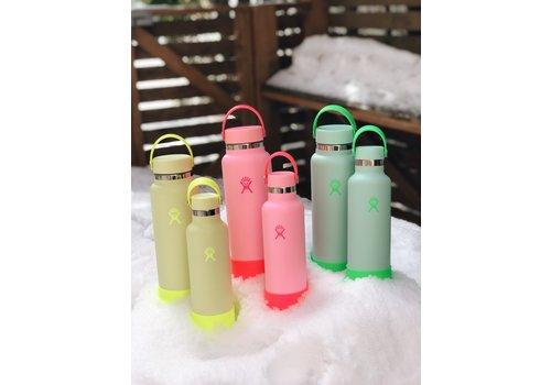 Hydro Flask 40 oz Wide Flex Cap And Boot Neon