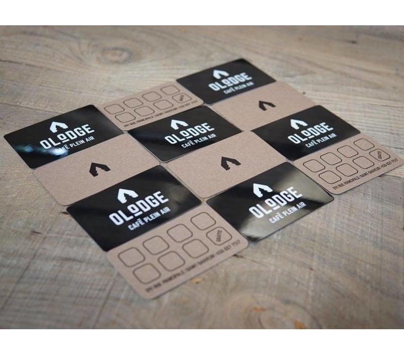 Carte Cadeau - 200$