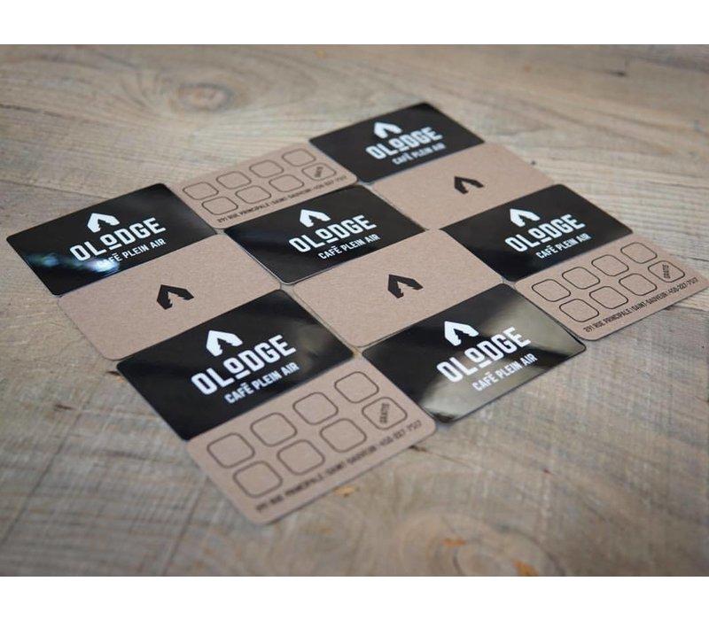 Carte Cadeau -  100$