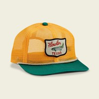 Unstructured Snapback - Gold/Green