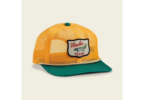 Howler Brothers Unstructured Snapback - Gold/Green