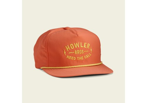 Howler Brothers Unstructured Snapback - Coral
