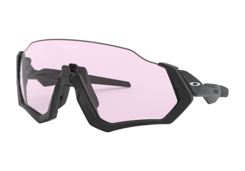 OAKLEY FLIGHT JACKET - Polished Black - Prizm Low Light