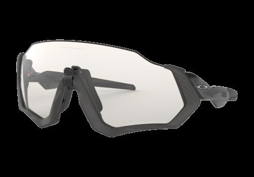 OAKLEY Flight Jacket - Steel - Clear Black Iridium Photochromic