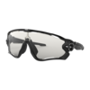 OAKLEY Jawbreaker - Polished Black - Clear to Black Photocromic