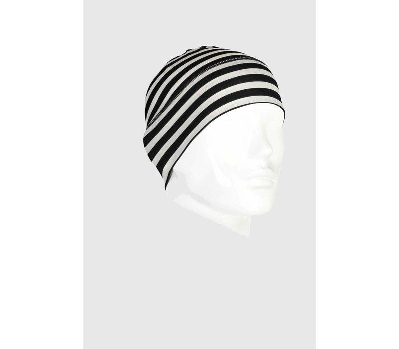 Unisex Tech Under Helmet Beanie - Thick Stripe