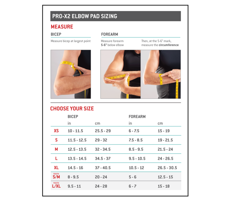 Pro-X2 - Elbow/Forearm Guard
