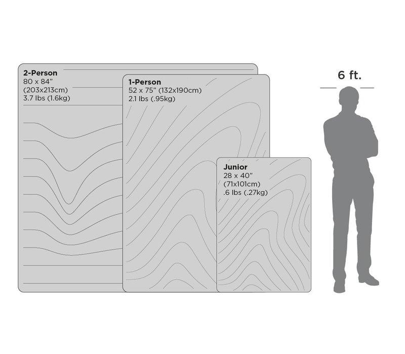 Nanoloft Printed Blanket - Crisp Fade