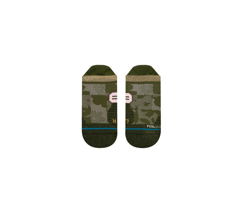 Women's Run Caught Up Tab - Olive