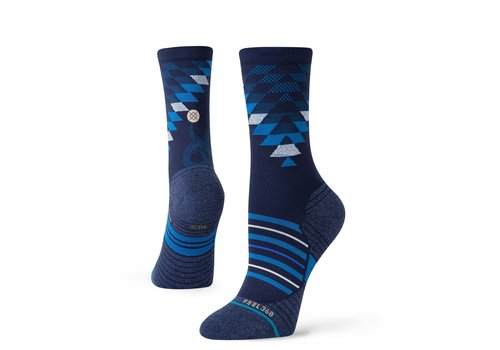 Women's Run Slithering Crew - Blue