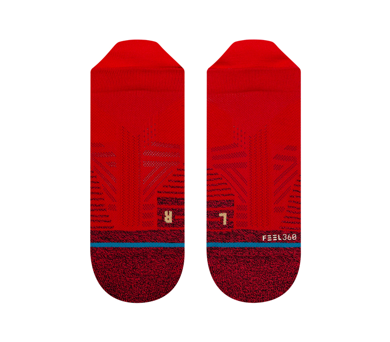 Athletic Tab - Red