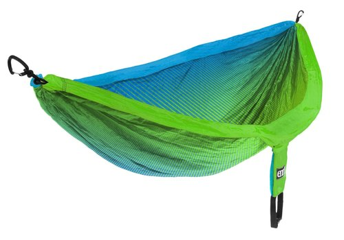 ENO DoubleNest Print  - Fade Teal Chartreuse