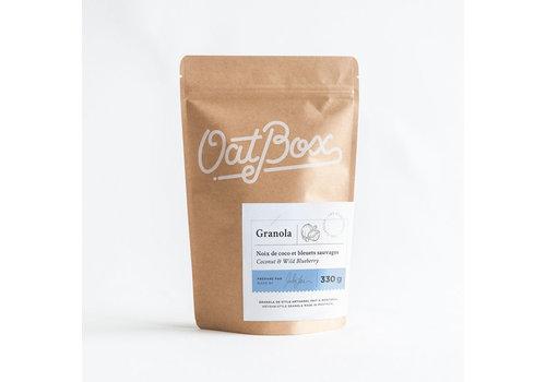 Oatbox Granola - Noix de Coco & Bleuets Sauvages