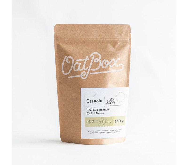 Granola - Chaï aux amandes