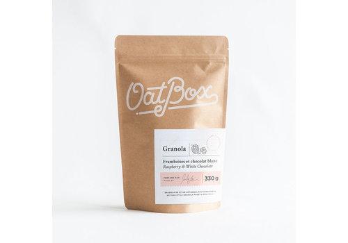 Oatbox Granola - Raspberry & White Chocolate Granola