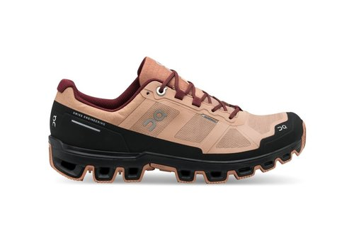 On Running Cloudventure Waterproof - Women - Rosebrown|Mulberry - SIZE 7
