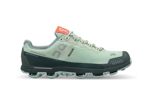 On Running Cloudventure Waterproof - Women - Mineral|Olive