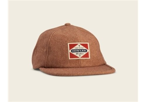 Howler Brothers Posse Badge Strapback - Tan Flannel