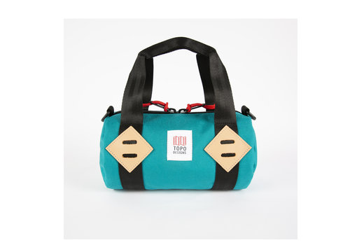 Topo Designs Classic Duffel Mini - Turquoise