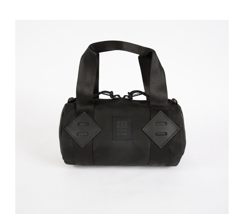 Classic Duffel Mini Ballistic - Black