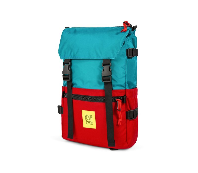 Rover Pack - Turquoise/Red