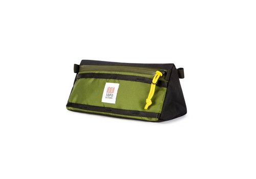 Topo Designs Bike Bag - Olive/Black