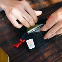 Accessory Bags Medium - Red Black Ripstop
