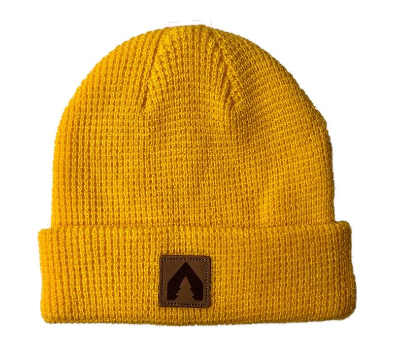 Olodge Waffle Knit - Squash Yellow