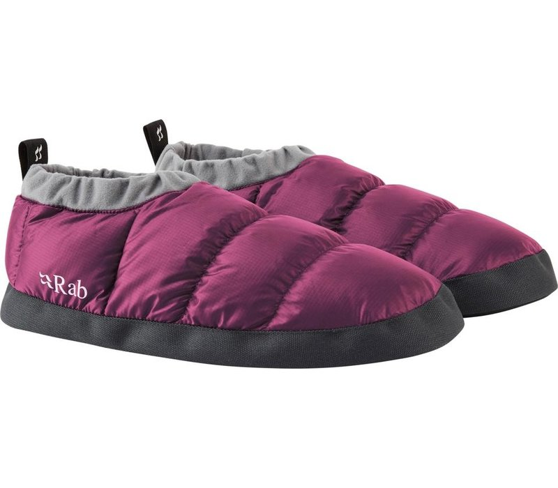 Down Slipper - Berry