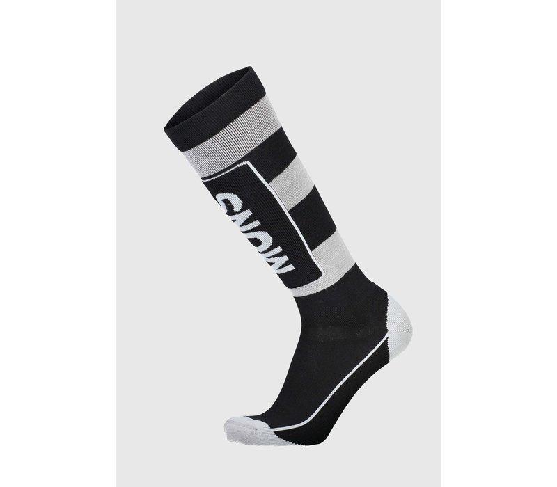 Men's Mons Tech Cushion Sock - Black & Grey