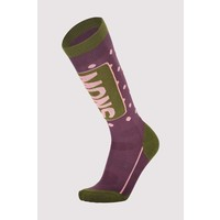 W's Mons Tech Cushion Sock- Blackberry & Avocado