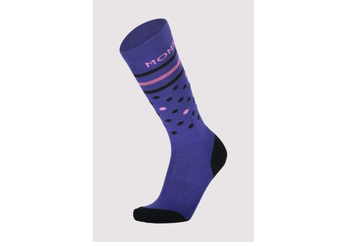 MonsRoyale W's Lift Access Sock - Blue & Pink