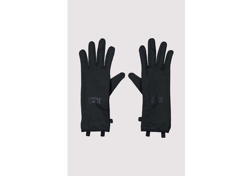 MonsRoyale Unisex Amp Wool Fleece Glove - Black