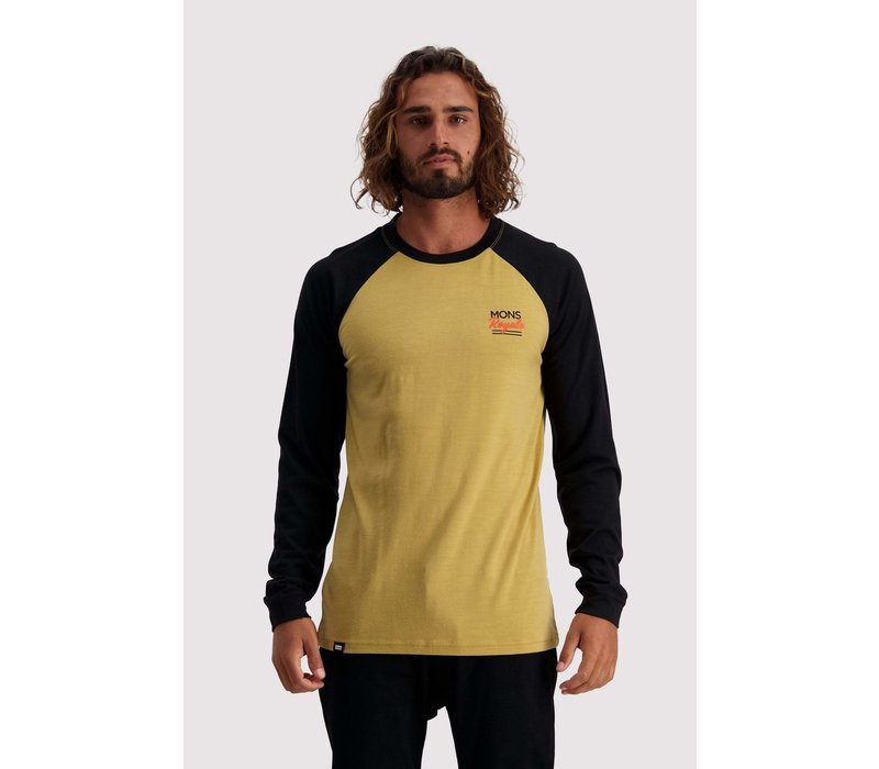 Men's The Go To Raglan LS