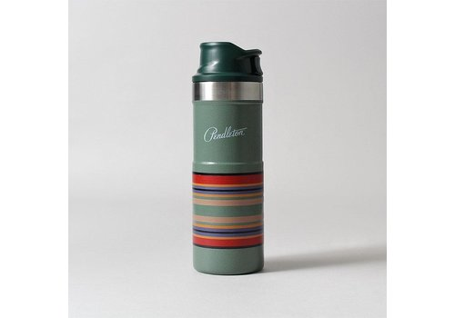 Pendleton USA Trigger-Action Travel Mug - Hammertone Green