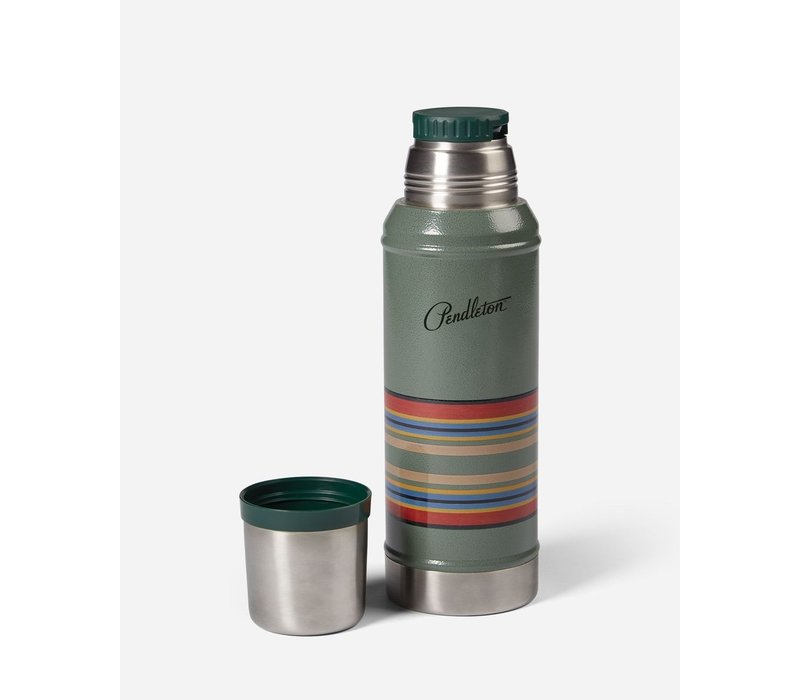 Adventure Stainless Steel  Bottle - Hammertone Green