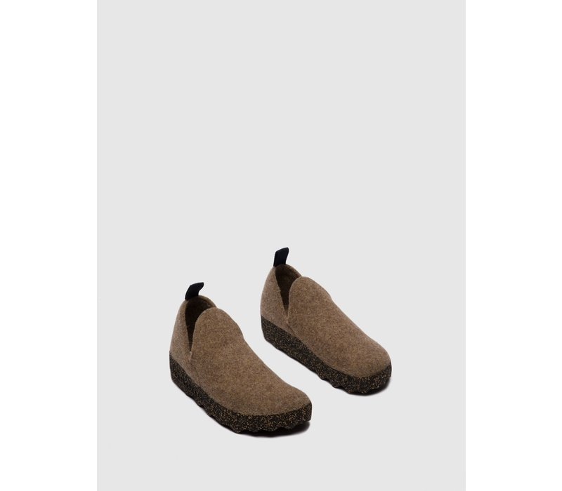 M's Slip-on Shoes CITY - Taupe