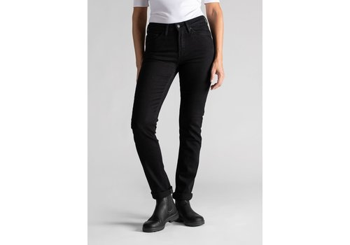 Duer W's Stay Dry Denim - Slim - Jet Black
