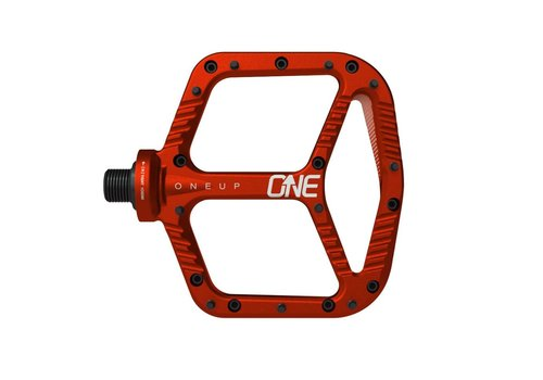 OneUp Components OneUp, Aluminum Pedals, Red