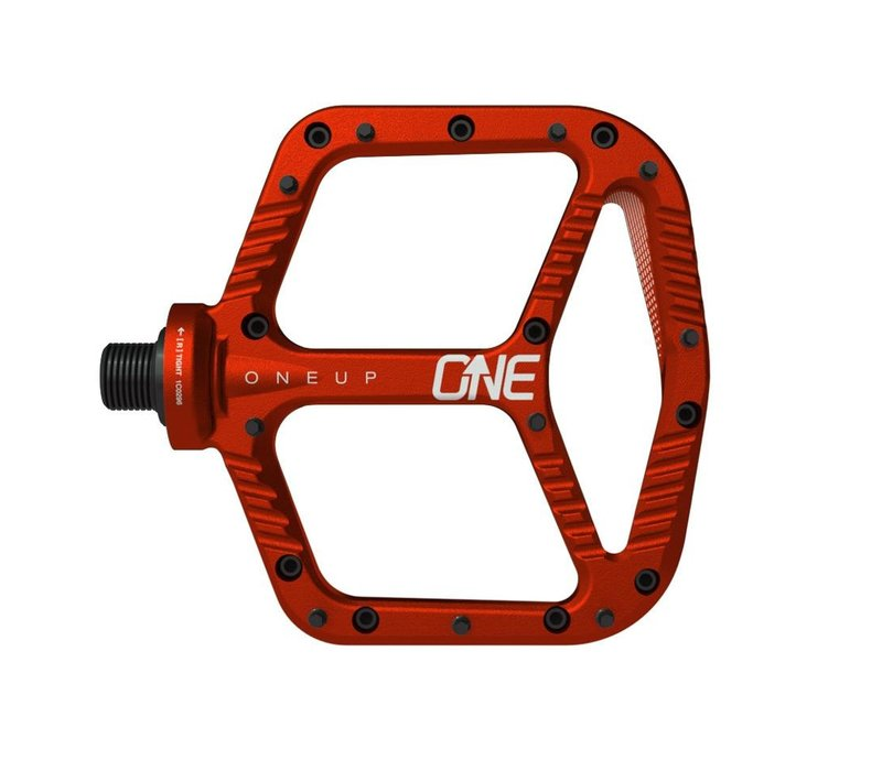 OneUp, Aluminum Pedals, Red